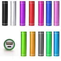 2600mAh USB Portable External Battery Power Bank Pack Charger Cable for Phones