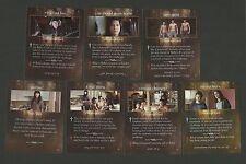 Gil Birmingham Werewolf Twilight Saga Fab Card LOT Alex Meraz Chaske Spencer