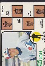 1973 TOPPS BASEBALL GENE MAUCH #377 EXPOS EX+/EXMT *55729
