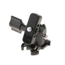 "Ball Head 1/4"" Screw Tripod Hot Shoe Mount Adapter for Gopro Cameras Black"
