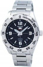 SEIKO SRPB79K1 5 Sports Automatic Day/Date Steel WR 100M 2 Year Guar RRP £250