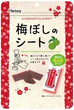 Umeboshi-no-Sheet  Plum Candy  40gx6 bags Ship from Japan