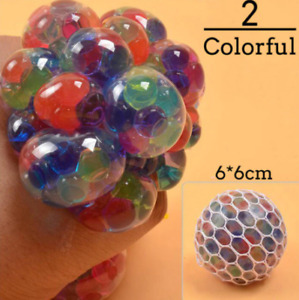 Colorful Grape Ball Antistress Toys Squishy Squish Toy Squeeze Relief Anti-stres