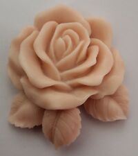 1pcs Big Single Rose (ZX914) Silicone Handmade Soap Mold Crafts DIY Mould