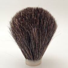 BRAND NEW HAND-ROLLED REPLACEMENT BADGER HAIR SHAVING BRUSH KNOTT KNOT TOP
