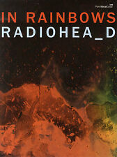 Radiohead IN RAINBOWS Piano Guitar Sheet Music Book PVG LEARN 15 STEP ROCK POP