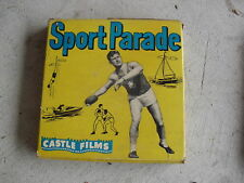 Vintage 16 mm Castle Movie Sport Parade Snow Speed