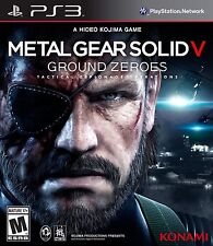 New Metal Gear Solid V: Ground Zeroes 5 Sony PlayStation 3 PS3 Free Shipping MGS
