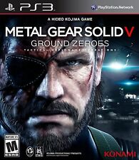 Metal Gear Solid V: Ground Zeroes PlayStation 3 PS3
