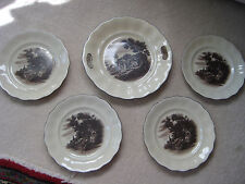 Vintage Cake Plate Set Erphila Germany Great Victorian Image