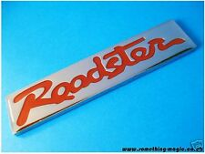 Enamel Chrome Roadster CAR BADGE Mazda MX5 Eunos Red MX 5