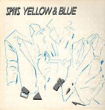 SPIVS - Yellow & Blue (1983 DUTCH POWERPOP VINYL LP)