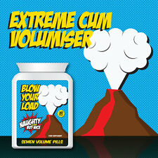 NAUGHTY BUT NICE BLOW YOUR LOAD SEMEN VOLUME PILL – EJACULATE  PARTNERS BODY