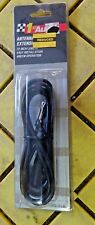 """72""""  AUTO ANTENNA EXTENSION CORD MALE FEMALE CAR AM FM ADAPTER CABLE 0-821829-11"""