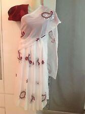 Bollywood Kindersari Kostüm 2tlg Genäht Wickln Nicht Nötig Mit Bluse Alle Größen
