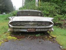 Old Photo.  Junked 1959 Lincoln Continental Automobile