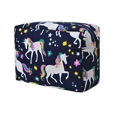 Cosmic Unicorn NGIL Large Cosmetic Make Up Travel Purse Organizer Pouch NWT