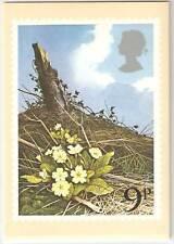 Elizabeth II (1952-Now) Flowers Great Britain PHQ Cards