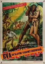 FACE OF EVE Italian 2F movie poster 39x55 CELESTE YARNALL CHRISTOPHER LEE 1968