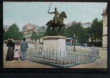 529-PARIS -2130 Carrefour St.Augustin, Statue de Jeanne d'Arc par Dubois.