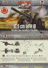 10,5 cm leFH 18, First To Fight, 1/72 Plastikmodellbausatz ,NEU,