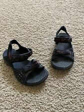 Nike ACG Kids Boys water hiking casual sandals Black Red US 13 UK 12 VGUC