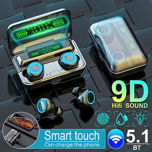 Bluetooth 5.1 Kopfhörer Touch Control In-Ear Wireless Headset für iOS Android