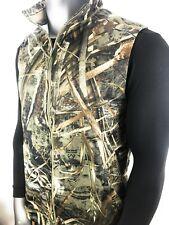 UNDER ARMOUR Threadborne Scent Control Hunting Fleece Vest 1299250 Camo Men's XL