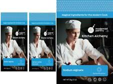 Sodium Alginate + Calcium Lactate Gluconate Value Pack ⊘ Non-GMO ☮ Vegan ✡...