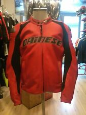Jacket dainese Santa Monica Red Leather Size 50-52