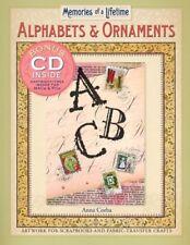 Memories of a Lifetime®: Alphabets & Ornaments: A