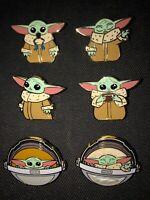 Loungefly Disney Star Wars Mandalorian Baby Yoda  6 Blind Pin Boxes New In Hand