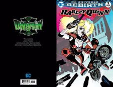 HARLEY QUINN #1 REBIRTH PEARSON VARIANT COLOR BOSTON CON EX VOL 3 DIMENSION X
