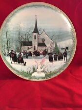 Anna Perenna Plate 982/7500 Christmas Carol - Boxed Coa