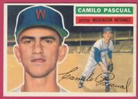 1956 Topps # 98 Camilo Pascual - National (EX)