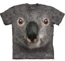 T-shirt The Mountain carlino o koala ( pug face muso animali cane ) maglietta