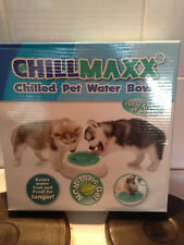 ChillMaxx: Chilled Pet Water Bowl