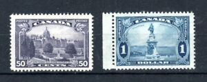 Canada 1935 50c and $1 MNH