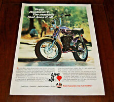 1971 Print AD Advertisement Art Poster Sales Rupp Roadster Minibike 9 x 12 Orig