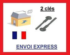 *2 clés extraction de démontage façade autoradio PEUGEOT 106 306