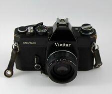 Vivitar 450/Sld 35mm Slr Film Camera Body