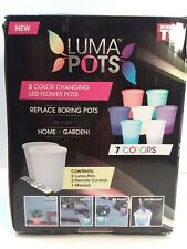 Luma Pots 2 W/ Remotes New in Box