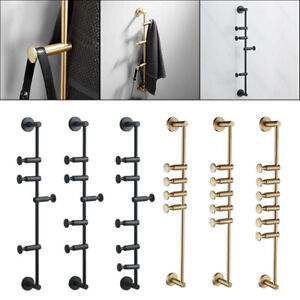 Wall Mount Coat Hooks Coat Rack for Scarves Clothes Handbags Space Saving