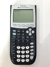Texas Instruments TI-84 Plus Black Graphing Calculator W/ BRAND NEW BATTERIES!