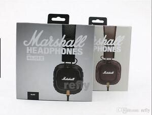 Marshall Major II Stereo Headphones Mic Bass Original Headset Remote Noise