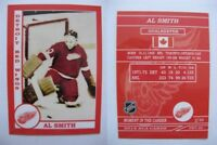 2015 SCA Al Smith rare Detroit Red Wings goalie never issued produced #d/10
