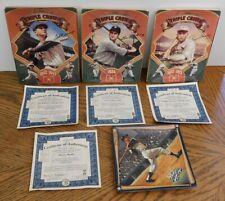The Bradford Exchange Mlb Baseball Collector's Plates Triple Crown Champions +