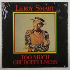 "Leroy Smart ""Too Much Grudgefulness"" Reggae LP Jah Life"