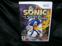 Sonic and the Secret Rings, Nintendo Wii Game, Trusted Ebay Shop