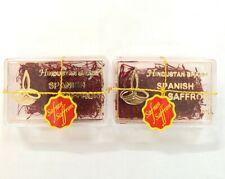 Pure Spanish Saffron Threads Premium Quality 1g x 2 pack